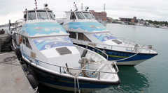 Fast Patrol Boat of New Taipei Government.HD Stock Footage