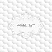 Modern abstract template upholstery background, Can be used for backgrounds and Stock Illustration