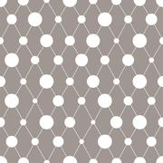 Abstract seamless pattern with circles. Vector illustration Stock Illustration