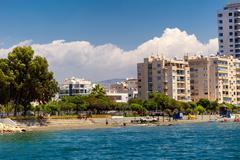 Street in Limassol - stock photo