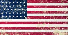 Union Civil War Flag - stock illustration