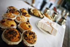 sweet Italian pastries - stock photo