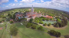 4k Aerial video Biltmore Hotel Miami Stock Footage