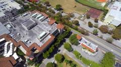 Village of Merrick Park aerial video 2 Stock Footage