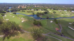 4k Aerial video Biltmore Hotel Miami 3 Stock Footage