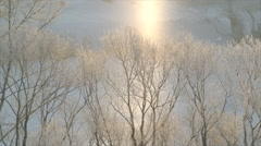 Two winters - stock footage