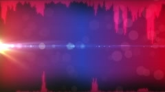 Signal sound waveform - stock footage