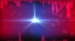 Signal sound waveform Stock Footage