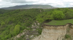 Beautiful view of the plateau. Aerial video. Russia. The Republic of Dagestan. Stock Footage
