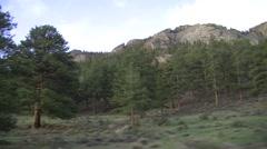 Travel around Rocky Mountain National Park, Colorado - stock footage