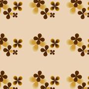 Joyful Sunny spring bright cheerful pattern Stock Illustration