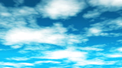 Broadcast Clouds Fly Through, Sky, Abstract, HD Stock Footage
