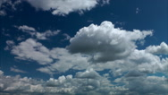 Stock Video Footage of Clouds, sky, movement and changes in the atmosphere, time lapse. 07