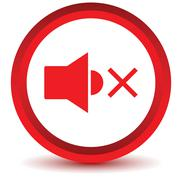 Red dynamic icon - stock illustration