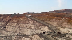 Kalgoorlie Superpit opencast gold mine - stock footage
