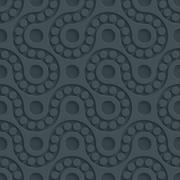 Dark perforated paper. Stock Illustration