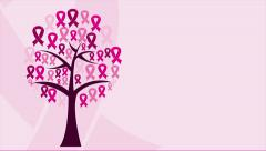 Woman tree Video animation - stock footage