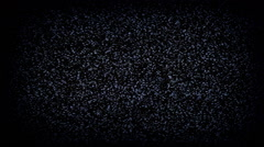 Static tv noise flicker close-up Stock Footage
