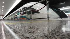 Shanghai Maglev Train Stock Footage
