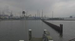 Amsterdam HD docks Stock Footage