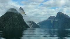 Fiordland, New Zealand Stock Footage