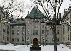 City Hall of Quebec City, Quebec, Canada - stock photo