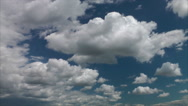 Stock Video Footage of Clouds, sky, movement and changes in the atmosphere, time lapse. 14