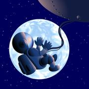 Fetus the universe Stock Illustration