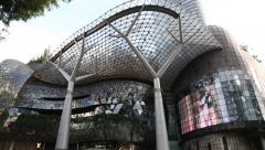 ION Orchard - one of the best shopping centers on Orchard Road Stock Footage