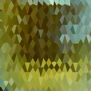Moss Green Abstract Low Polygon Background Stock Illustration