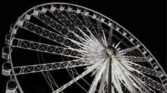 Ferris Wheel - Amusement Park Arkistovideo