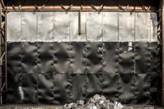 Steel background in factory Stock Photos