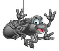 Cartoon Spider Stock Illustration