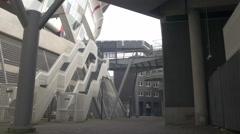Amsterdam 4K Ajax football stadium _1 Stock Footage