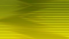 Neon Yellow Multiple Horizontal Stripes Motion Background Animation Stock Footage