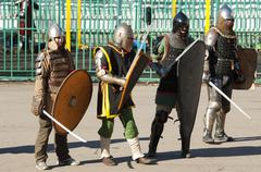 Stock Photo of Medieval squad