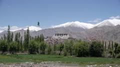 Stakna Monastary,Stakna,Ladakh,India Stock Footage