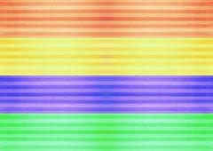 Multicolor Abstract Stripped Lines Background - stock illustration