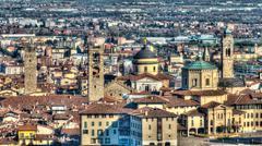 Bergamo high Stock Photos