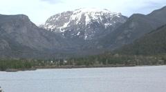 Grand Lake, Rocky Mountain National Park, Colorado Stock Footage