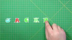 Popular English words. jackpot Stock Footage