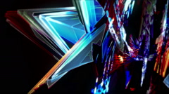 Fractal Organic Crystals 2 Stock Footage