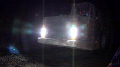 Stock Video Footage of Mining truck underground