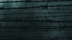 Iron curtain - stock footage