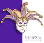Venetian Mask Stock Illustration