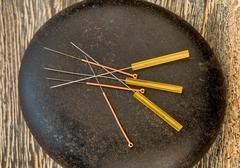 Acupuncture needles Kuvituskuvat