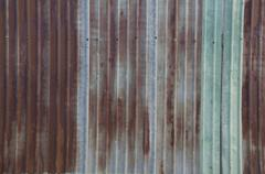 Metal sheet rust wall home house rustic concept Stock Photos