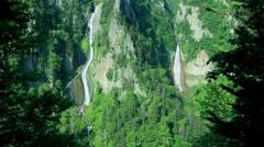 Ginga Waterfall, Hokkaido, Japan Stock Footage