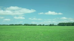 Countryside at summer, Hokkaido, Japan Stock Footage