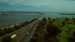 San Diego Aerial Stock Footage